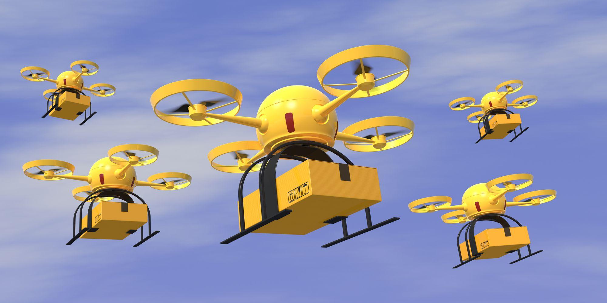 IPSO FACTO - Qué papel juegan los drones para enviar paquetería